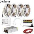Milight Wifi Ibox2 светодиодный контроллер с цветовой температурой SMD5050 CT Светодиодная гибкая полоса от 1 до 2/3/4 4 pin аксессуары комплект драйвера пит...