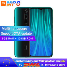 Global ROM Original Xiaomi Redmi Note 8 pro 6GB 128GB MTK Helio G90T Smartphone 4500mAh 64MP Rear Camera  6.53""