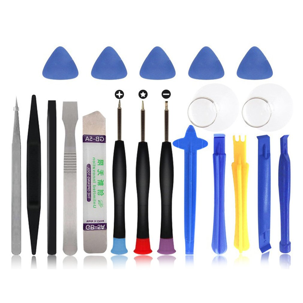 20 In 1 Mobile Phone Repair Tools Kit Spudger Pry Opening Tool Screwdriver Set For Iphone X 8 7 6s 6 Plus 11 Pro Xs Hand Tools Making Things Convenient For Customers