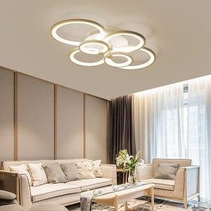 Image 3 - NEO זוהר שלט רחוק סלון חדר שינה מודרני led תקרת אורות luminarias para sala עמעום led תקרת מנורת גופי