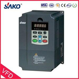 Image 3 - Inversor fotovoltaico sako vfd 380v 7.5kw, controlador de energia solar para uso de bomba