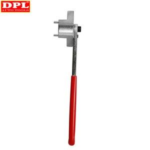 Image 4 - Outil de clé de poulie pour réglage de Tension de la courroie de distribution du moteur, outil de clé de poulie, pour VW Audi