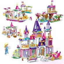 Конструктор «Замок принцессы» disney замок королевских праздников