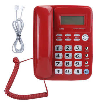 Office Domestic Business Caller Identification Telephone Fixed Hands Free Call Landline Hot Sale