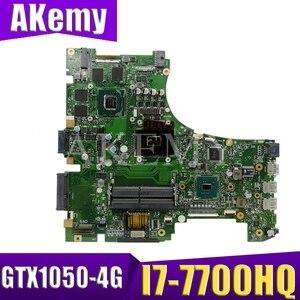 GL553VD Laptop motherboard for ASUS ROG GL553VD FX53VD ZX53V GL553VW Test original mainboard I7-7700HQ GTX1050-4G