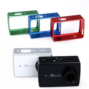 Image 4 - Xiomi Cnc سبائك الألومنيوم حالة ل Xiaomi يي 4K الأشعة فوق البنفسجية حامي عدسة كاب إطار غطاء ل شياويى 2 الرياضة عمل كاميرا الملحقات