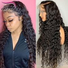 Pre Gezupft Spitze Vorne Menschenhaar Perücken Für Frauen Peruanische Haar Spitze Vorne Perücke Mit Baby Haar Curly Lace Frontal perücke Remy Haar