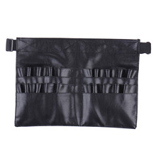 Pro Makeup Brush Holder Case Bag Artist Belt Strap Cosmetic Makeup