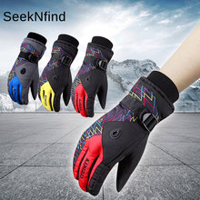 Winter Sports Warm Ski Gloves Waterproof Windproof Soft Heated Gloves for Playing Skiing Snowboard Cycling Motorcycle electric battery heated gloves smart control 3 7v warm gloves winter outdoor waterproof windproof sports ski bicycle gift