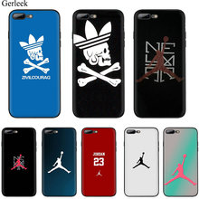 Desxz mobile Phone Case For iPhone 5 5s SE 6 6s 7 8 Plus X XR XS Max XR Cover Protection Jordan Air Jump Man Club Soft TPU Case(China)