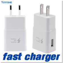 100pcs/lot Adaptive Fast Charger 5V 2A USB Wall Charger Power Adapter For Samsung Galaxy Note 4 S6 S7 For iphone 5 6 Free DHL