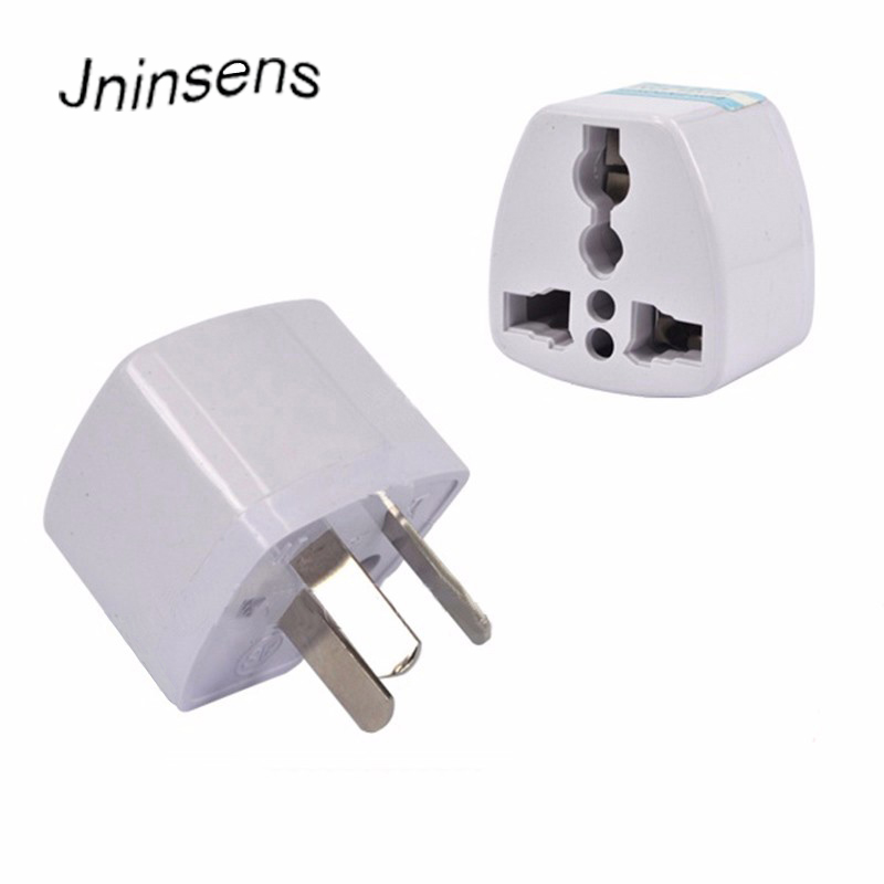 New Universal Power Adapter Travel Adaptor 3 Pin AU Converter US/UK/EU To AU Plug Charger For Australia New Zealand