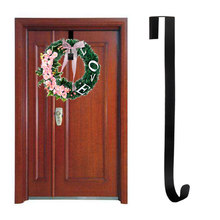Wreath Hook Hanger Over Door Christmas Metal Wreath Hanger Spray Paint Front Door Wreath Hooks(China)