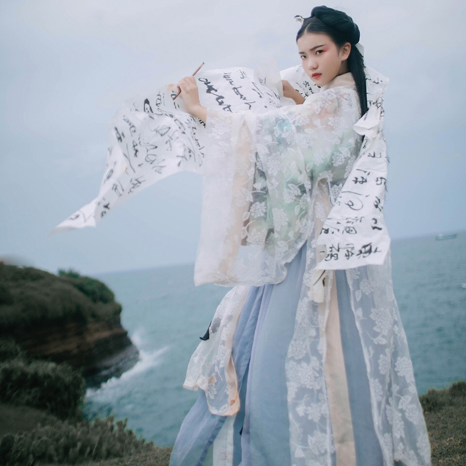 2019 Chinese Traditional Ancient Womens Hanfu Costumes Women Hanfu Clothes Lady Fairy Gorgeous Princess Costume Dress