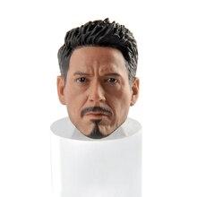 1/6 Iron Man Tony Stark Young Man Head Model F 12'' PH Figure body s02a s06b s09c s18a s19b s20a s21b s22a s23b 1 6 tbleague ph seamless mid large breast bust female body f 1 6 head figure