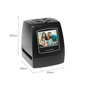 "Image 3 - 네거티브 필름 스캐너 35mm 135mm 슬라이드 필름 변환기 사진 디지털 이미지 뷰어 2.4 ""LCD 내장 편집 소프트웨어"
