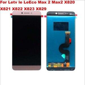 "Image 4 - 5.7 ""orijinal LeTV LeEco Le Max 2 LCD dokunmatik ekran digitizer Leeco Le Max 2 için Max2 LCD X820 x829 X821 X822 X823"