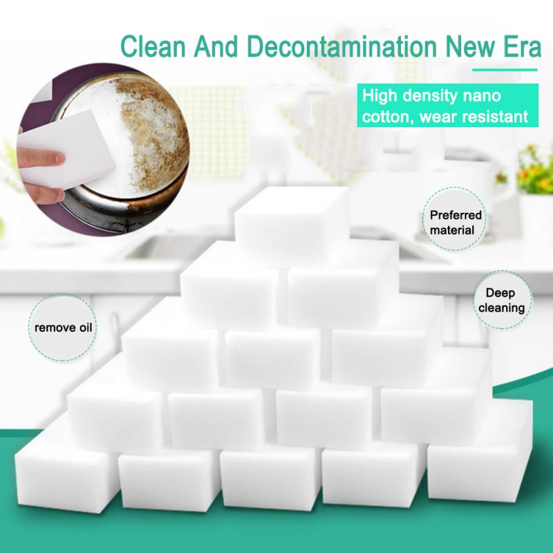 5Pcs Car Nano Melamine Sponge Magic Sponge Eraser Auto Cleaner For Windows Interior Cleaning Sponges 16x11x2cm