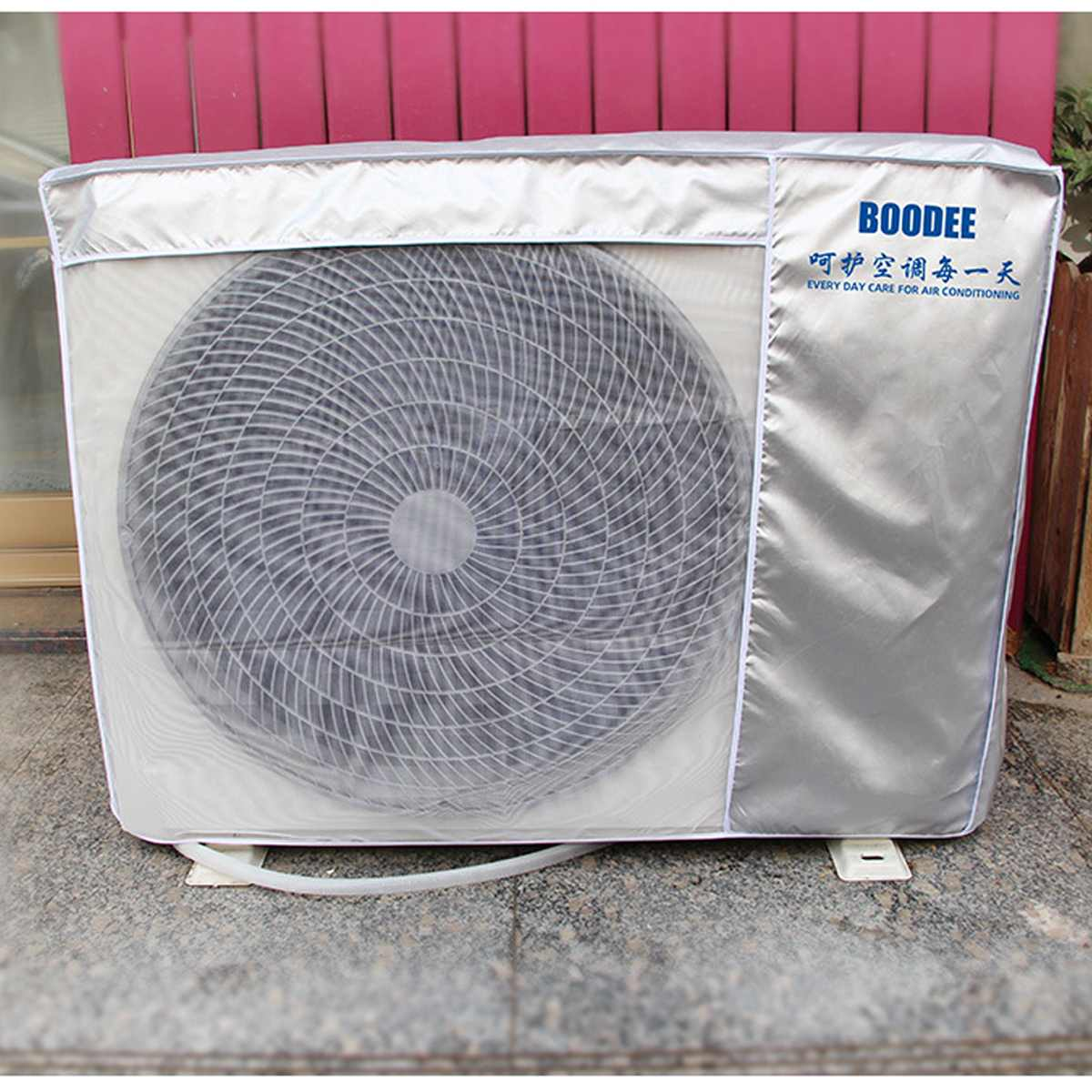 4 Sizes Outdoor Air Conditioning Cover Air Conditioner Waterproof Cleaning Cover Washing Anti-Dust Anti-Snow Cleaning Cover