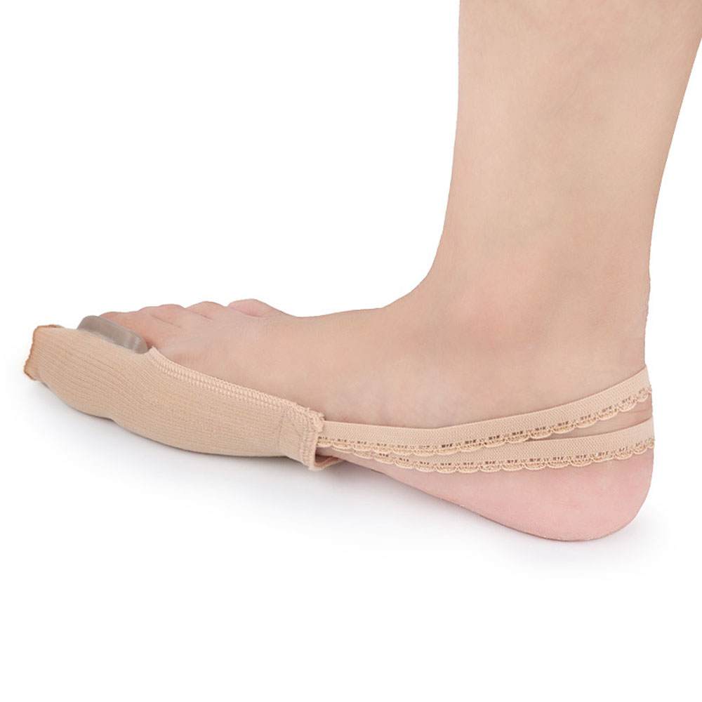 Nylon gel lace protective cover foot care hallux valgus toe splitter carding and correcting toes bunion corrector feet care