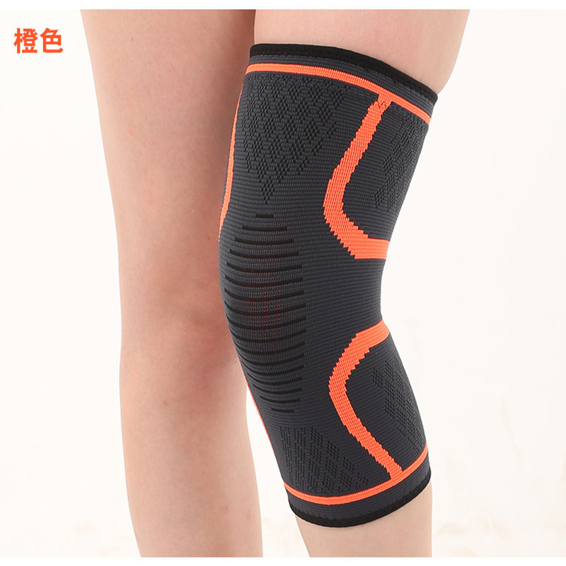 TJ-TingJun Professional Sports Kneepad Basketball Football Breathable Anti-collision Mountain Climbing Men Leg Protection 80