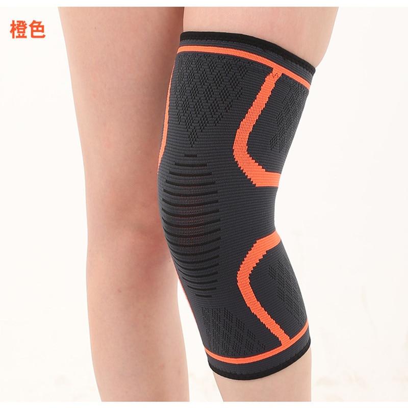 TJ-TingJun Professional Sports Kneepad Basketball Football Breathable Anti-collision Mountain Climbing Men Leg Protection 80