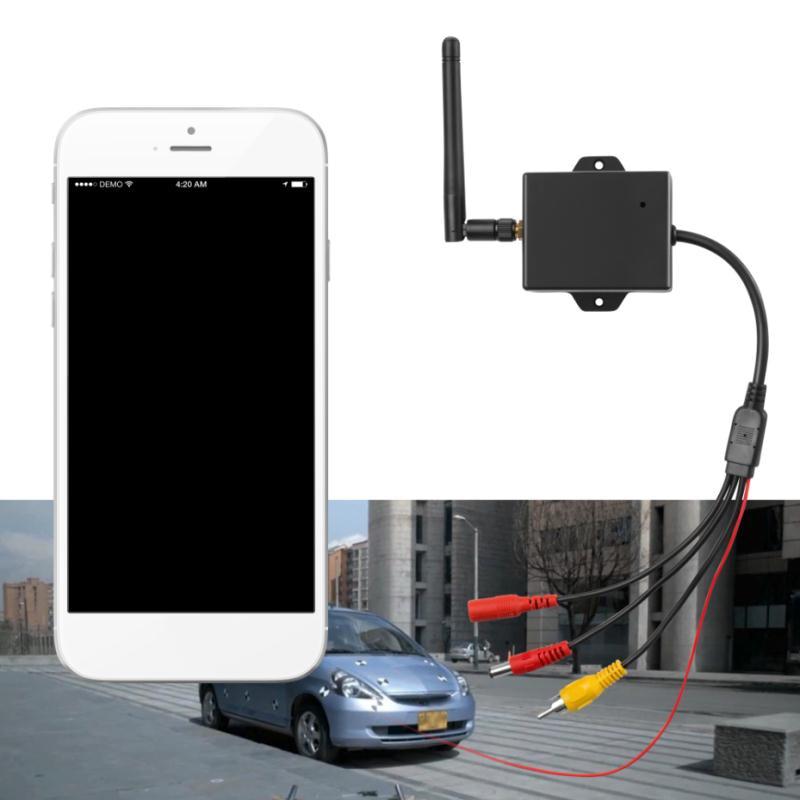 WiFi Wireless Transmitter Module Car Backup Camera AV Video Rear View Kit Brand New And High Quality