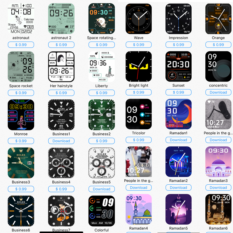 H47c1a2636d5a4c22930b3a9ff0500c36c Original HW16 44mm Smart Watch Series6 Men 320*385 Screen Custom Picture Smartwatch Women BluetoothCall 2021 pk FK88 IWO13 W46