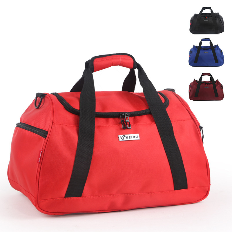 Customizable Logo Korean-style Oxford Large Capacity Sports Shoulder Travel Bag Gym Bag Men And Women Shoulder Handbag Training