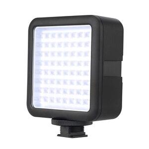 Image 2 - Đèn Flash Godox LED64 Video 64 Đèn LED Kép Nguồn Điện 5500 ~ 6500K Máy Ảnh DSLR Nhỏ DVR Cưới tin Tức Về Cuộc Phỏng Vấn