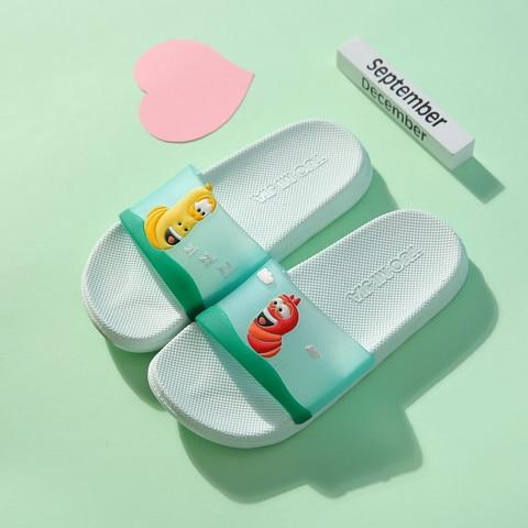 banheiro antiderrapante bonito dos desenhos animados sandalias