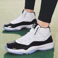 عالية كبار الرجال حذاء كرة السلة تنفس حذاء من الجلد في الهواء الطلق الصالة الرياضية التدريب الرجال أحذية رياضية أحذية رياضية Zapatillas دي الباسك