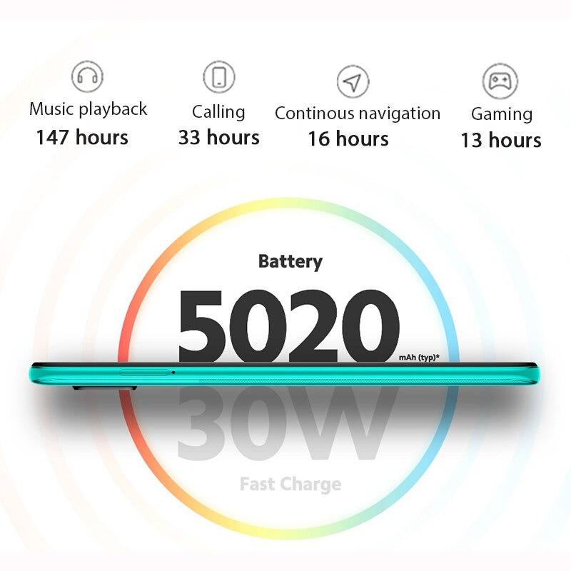 Global Version Xiaomi Redmi Note 9 Pro 6GB 64GB / 128GB Snapdragon 720G 64MP AI Quad Cam Smartphone Note 9 Pro 5020mAh 30W QC