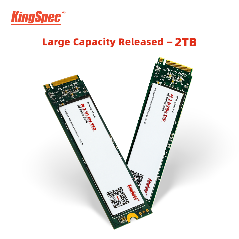 NEW COMING High Capacity M.2 SSD KingSpec 2tb m2 2280 nvme pcie SSD Internal Hard Disk Drive hdd For Laptop Desktop gaming PC image