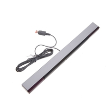 New Practical Wired Sensor Receiving Bar For Nintendo Wii / Wii U