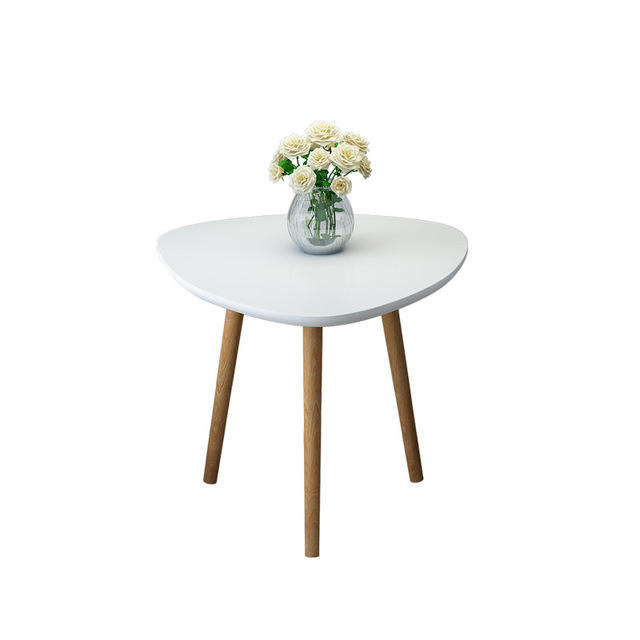 Wooden Triangle  Coffee Table  5
