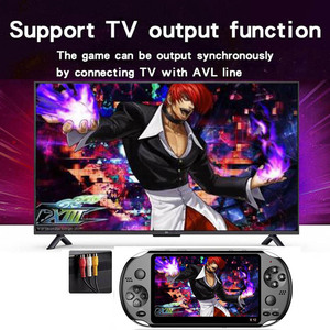 Image 2 - X12 Handheld Game Console 8G 32/64/128 Bit  HD Color LCD Screen 3000+ Games Kid Video Retro Portable Handheld Game Player on TV