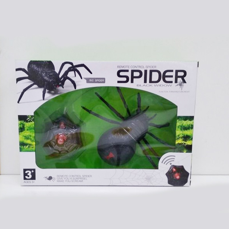 Children Realistic Crawling  Spider Trick Toys Novelty Spoof Electric Toys Model Remote Control Spider