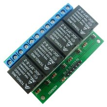 4CH 5V Flip-Flop Latch Relay Module Bistable Self-locking Switch Low pulse trigg