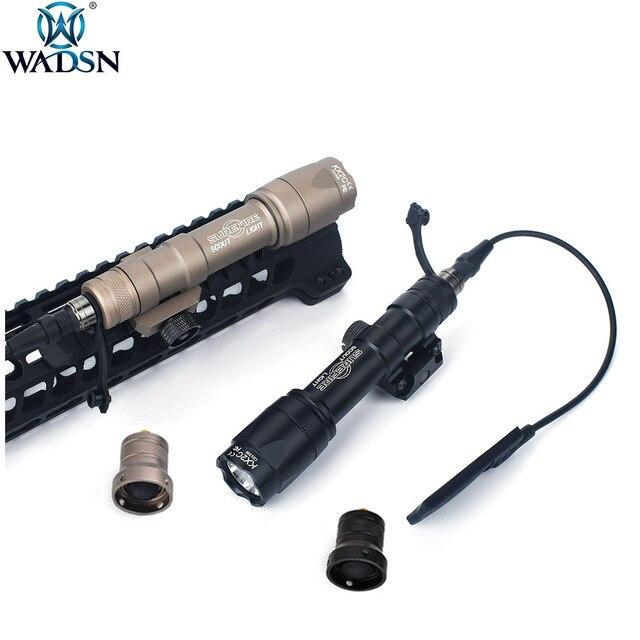 Airsoft Surefir טקטי M600 M600C Armas סקאוט אור לפיד LED 340lumes Softair חיצוני ציד רובה נשק פנס