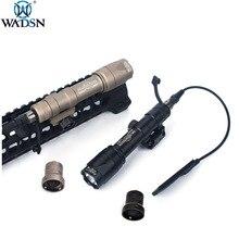 Lampe torche légère surefer tactique Airsoft M600 M600C, LED et 340 lumens, pour les armes de chasse en plein air, armes de chasse