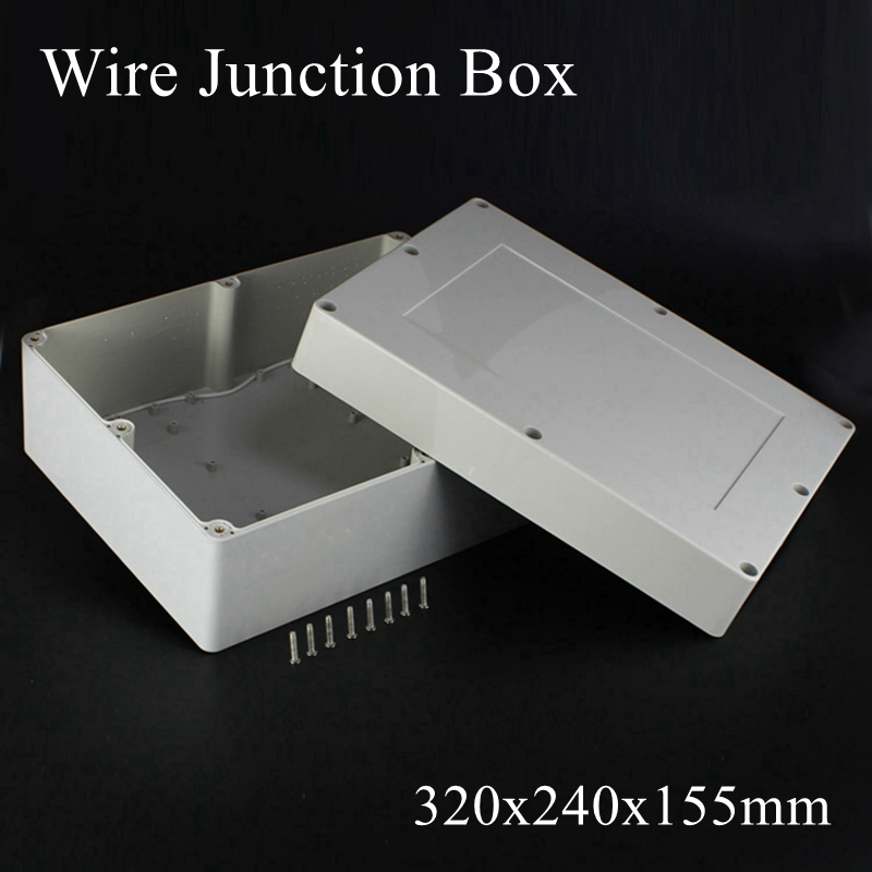 230mmx150mmx85mm Transparent Enclosure Case DIY Electronic Wire Project Box