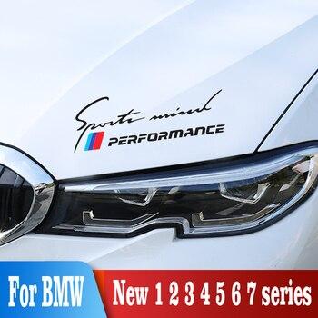 2PCS Car decal Sticker For BMW E90 E92 E93 F20 F21 F30 F31 F32 F33 F34 F15 F10 F01 F11 F02 G30 M  Exterior Accessories