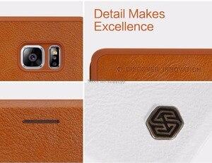 Image 5 - Nillkin For Samsung Galaxy Note FE Fan Edition Case Qin PU Flip Case For Samsung Galaxy Note FE Fan Edition Case Back Cover