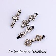 Luxe Vintage strass cheveux bijoux accessoires perle épingles à cheveux or mariage tête pièce cristal pinces à cheveux pour femmes filles