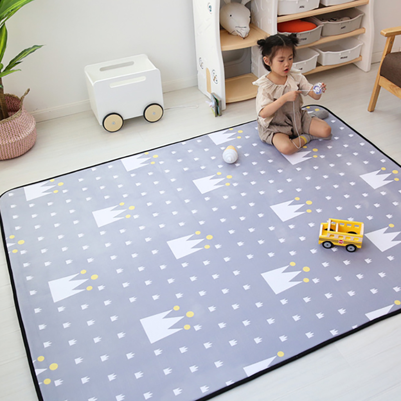 Infant Baby Crawling Mat Thick Play Mat  Kids Activity Carpet Baby Room Decor Developing Rugpad Foldable Washable BXX018
