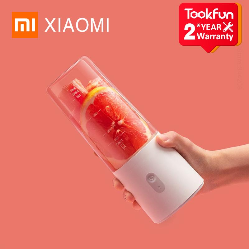 XIAOMI MIJIA mini Blenders Small Portable charging Juicer Fruit Cup Food Processor Electric Kitchen Mixer Quick Juicing 350ML