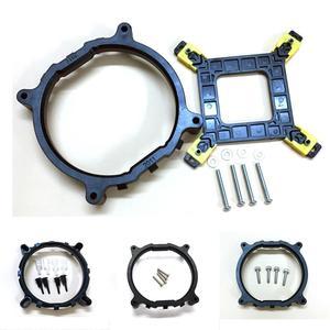 CPU Cooler Fan bracket heatsink Holder LGA 775 1150 1151 1155 1156 1366 2011 AMD AM4 General Backplane Base For Intel(China)