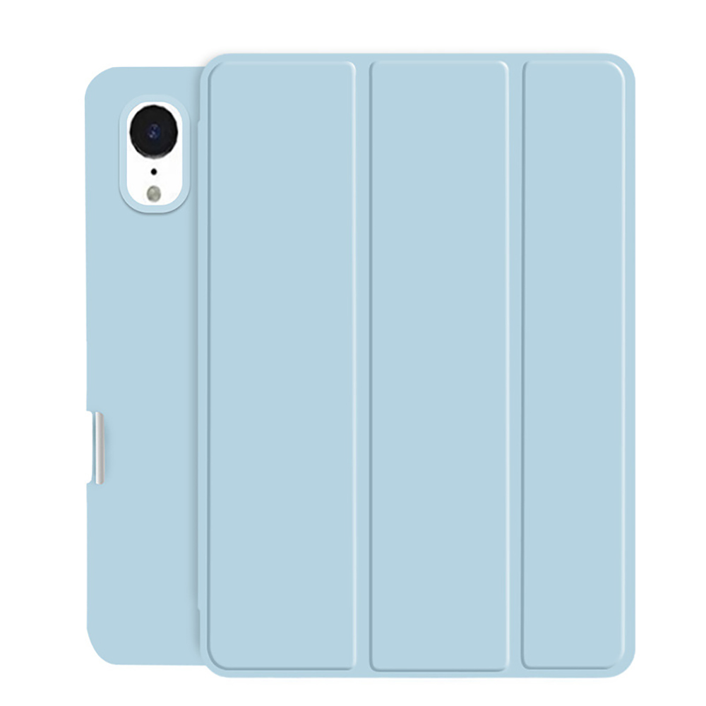 Light Blue Black Tablet Case For New iPad Air 4 10 9 2020 Soft Silicone Cover With Pencil Holder