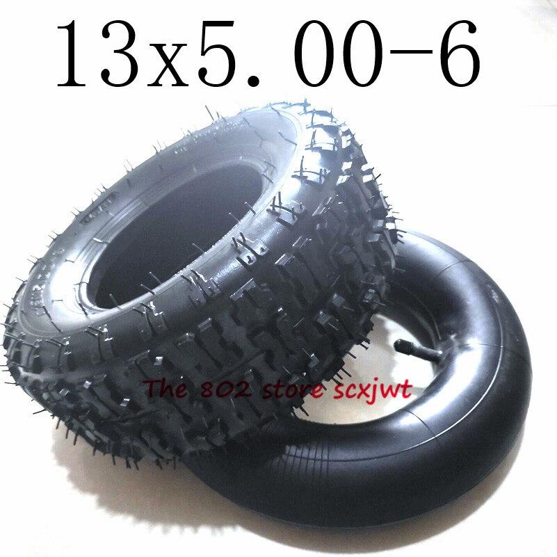 Размер 13x5,00-6 шины внутренние и внешние шины 13 *-6 шины для каратинга электрический скутер Сельскохозяйственные Запчасти для уборки снега и г...